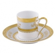 Orsay Powder Blue  Coffee Saucer