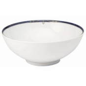 Scala Blue Gold Filet  Salad Bowl 28