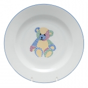 Herend Baby Plate - Teddy Bear