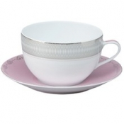 Margot Pink  Breakfast Saucer