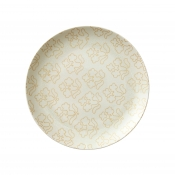 Dinner Plate w/ Gold