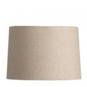 "Barrel Shade - Natural Linen / 9"" x 12"" x 13"""