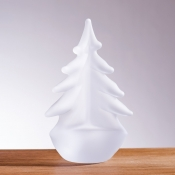 Simon Pearce Vermont Frosted Evergreen - 6""