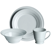 4 Piece Setting w/Cereal Bowl