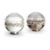Garland Spice Jewels - Platinum + White Crystals
