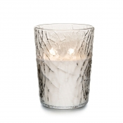 Simon Pearce Silver Lake Candle - Evergreen