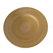 Anna Weatherley Charger - Brushed Gold