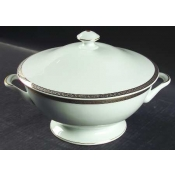 Athos Gold & Platinum  Soup Tureen With Lid