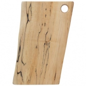 Spaulted Maple Rectangular Serving Boards / Hole Handle 12 Inch