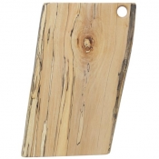 Spaulted Maple Rectangular Serving Boards / Hole Handle 15 Inch