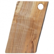 Spaulted Maple Rectangular Serving Boards / Hole Handle 9 Inch