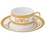 Orsay White  Tea Saucer
