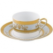Orsay Powder Blue  Tea Saucer