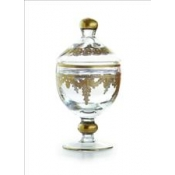 Baroque Gold Canister with Lid