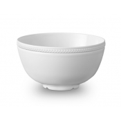 Soie Tressee White Cereal Bowl