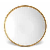 Soie Tressee Gold Soup Plate