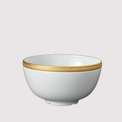 Soie Tressee Gold Cereal Bowl