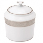 Trianon Platinum Round Sugar Bowl