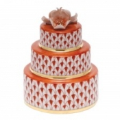 Herend Wedding Cake Rust