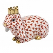 Herend Royal Bunny Rust