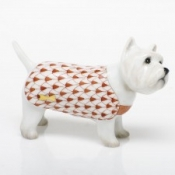 Herend West Highland Terrier - Rust