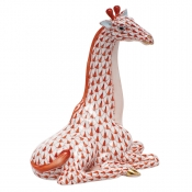 Herend Giraffe - Rust