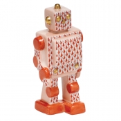Herend Toy Robot - Rust