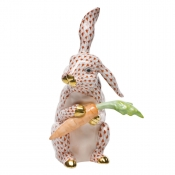 Large Bunny with Carrot Rust