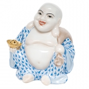 Laughing Budddha - Small Small Laughing Buddha - Blue