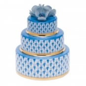 Herend Wedding Cake Blue
