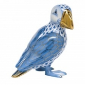 Herend Puffin Blue