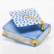 Herend Graduation Cap Blue