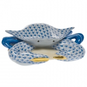 Herend Crab - Blue