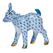 Herend Baby Goat Blue