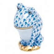Herend Leapin Louie - Blue