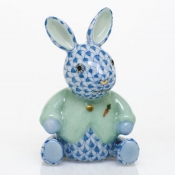 Herend Sweater Bunny - Blue
