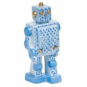 Herend Toy Robot - Blue