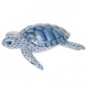 Herend Loggerhead Turtle Blue