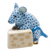 Mouse with Cheese Blue