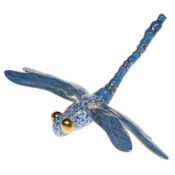 Herend Dragonfly Blue