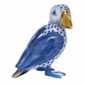 Herend Puffin Sapphire