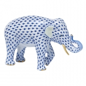 Herend Asian Elephant - Sapphire