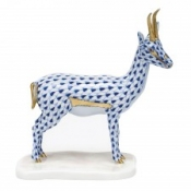 Herend Cuviers Gazelle - Sapphire