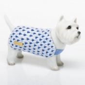 Herend West Highland Terrier - Sapphire