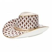 Herend Cowboy Hat Chocolate