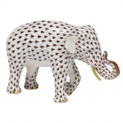 Herend Asian Elephant Chocolate