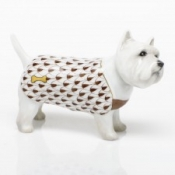 Herend West Highland Terrier - Chocolate