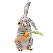 Large Bunny with Carrot Chocolate