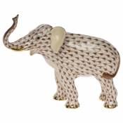 Herend Elephant Luck - Chocolate