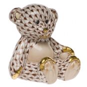 Herend Small Teddy Bear Chocolate